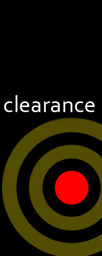 <special deals on clearance units>